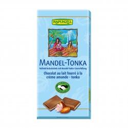Čokoláda mléčná s náplní Mandle Tonka BIO 100g Rapunzel