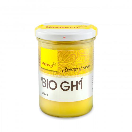 Ghí - přepuštěné máslo BIO 400ml Wolfberry