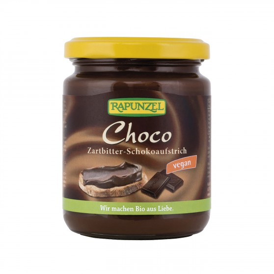 Čokoládová pomazánka Choco Vegan BIO 250 g Rapunzel