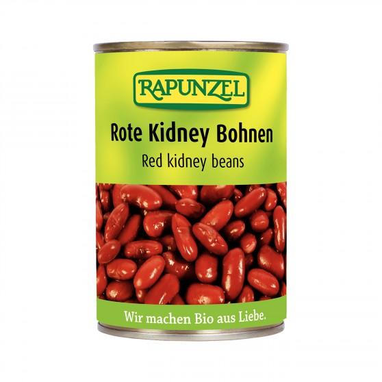 Červené fazole sterilované BIO 400g Rapunzel