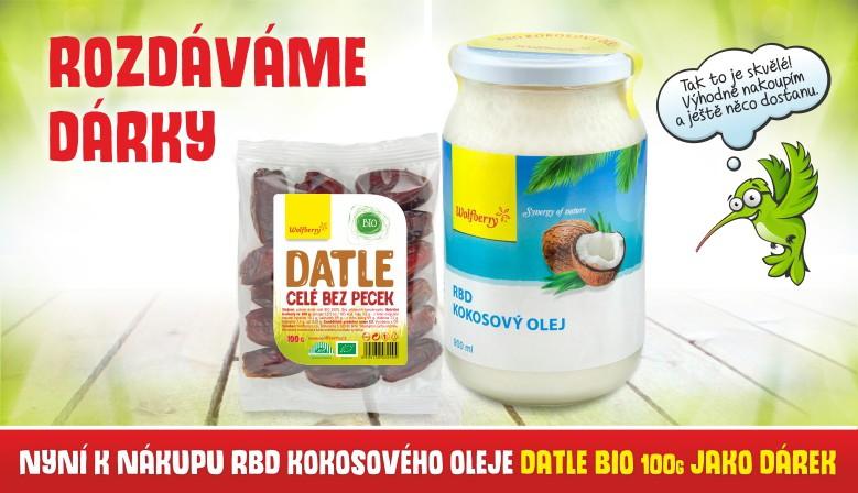 RBD kokosový olej s dárkem