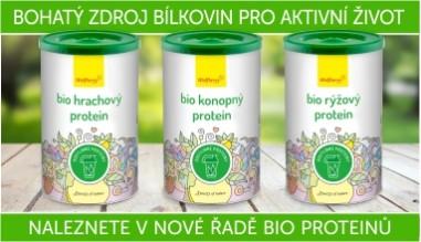 Bio rostlinné proteiny